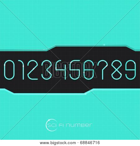 Sci Fi Number