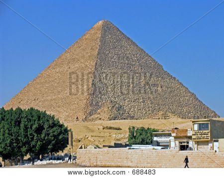 Khufu great pyramid