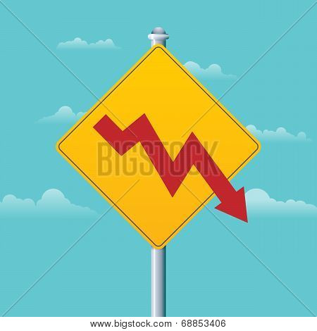 Deficit Warning Sign