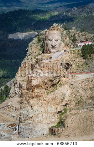 Aerial View Of Crazy Horse