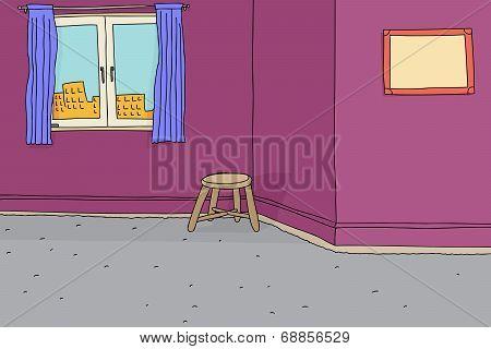 Sparse Condiminium Room