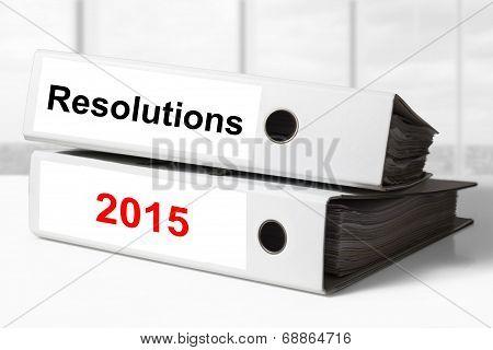 Office Binders Resolutions 2015