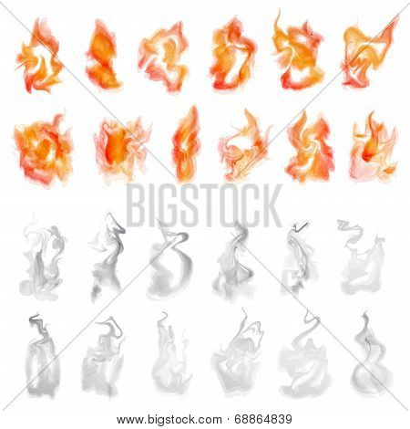 Fire And Smoke Set