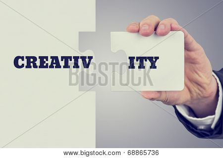Conceptual Image Of Creativity