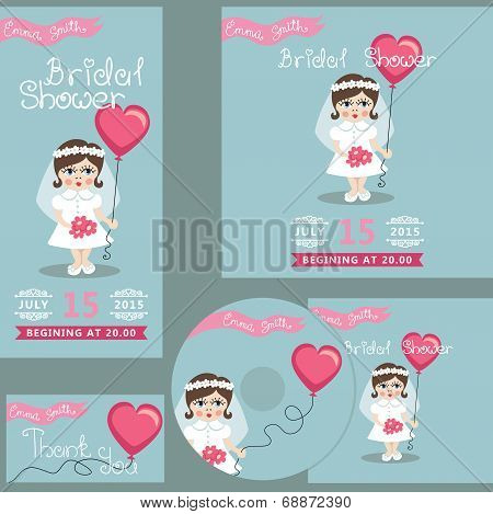 Cute bridal shower design