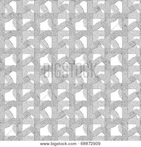 Seamless Patterned Mask Grid