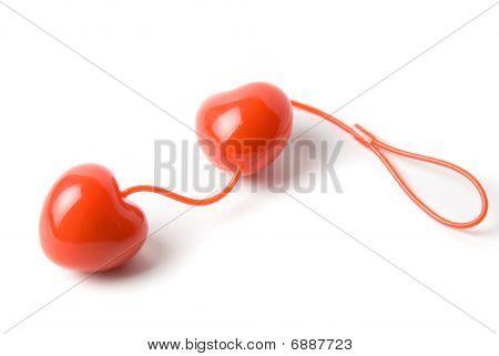 Red Vaginal Balls