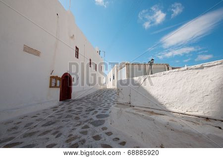 street of Panagia Tourliani