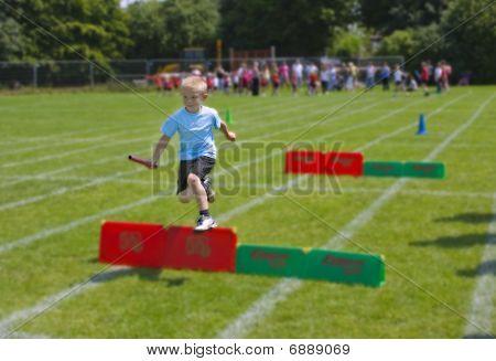 Boy Running