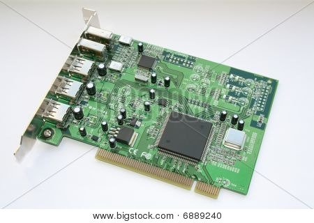Firewire/usb Pci Board