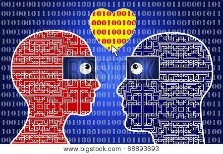 Computer Nerds In Love