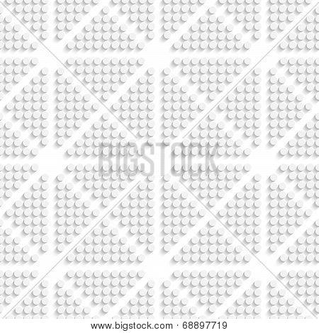 White Dots Seamless
