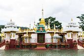 picture of shan  - Shan Pagoda In Wat Fah Wiang In - JPG
