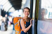 stock photo of passenger train  - Pretty - JPG