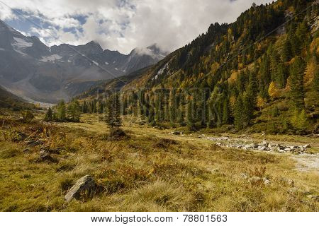 Herbst im Hochgebirge