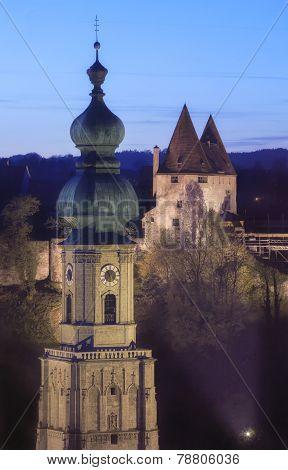 Jakobs Church In Burghausen Bavaria