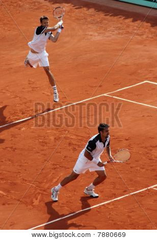 D. Nestor (can) / N. Zimonjic (srb) At Roland Garros 2010