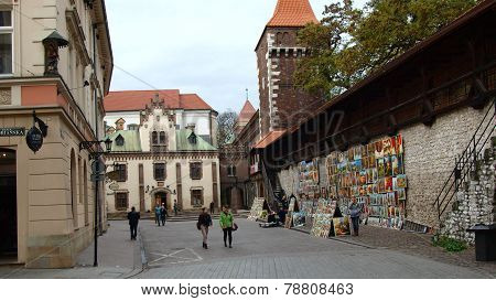 Krakow's defensive walls and art (2)