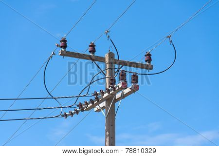 Top Wire Pole