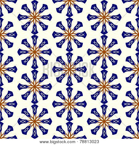 Blue Roots Or Tribal Pattern On Pastel Background