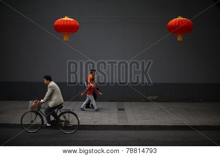 Walking In Beijing