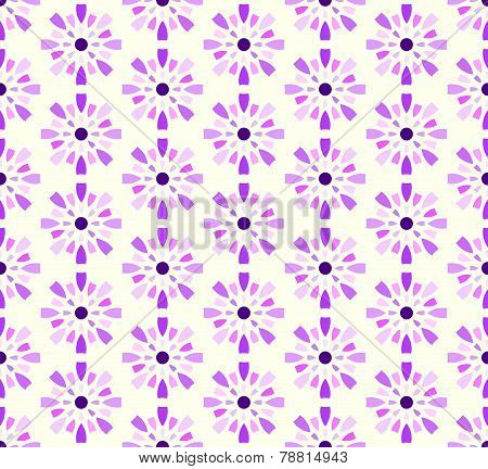 Purple Sweet Fireworks And Circle Pattern On Pastel Background