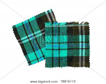 Scottish Checked Fabric