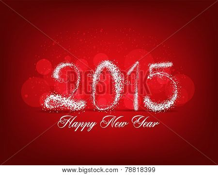 Happy new year abstract light background