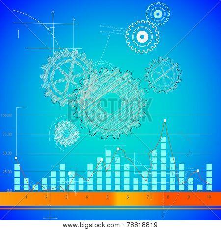 Techno pettern background
