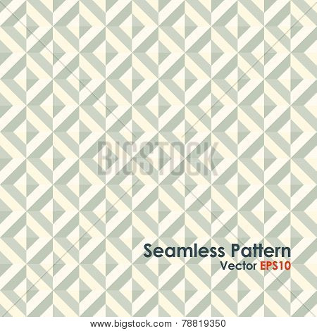 Beige Abstract Rectangle Seamless Pattern