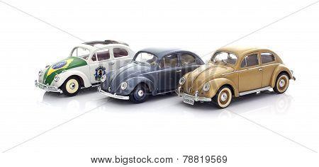 3 Vw Beetles