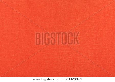 Background From Fibrous Structure Color Red Paper