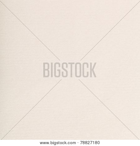 Square Background From Cream-coloured Paper