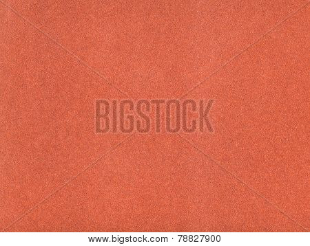Background From Sheet Of Red Brown Color Velvet Paper