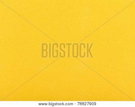 Background From Dark Yellow Color Velvet Paper