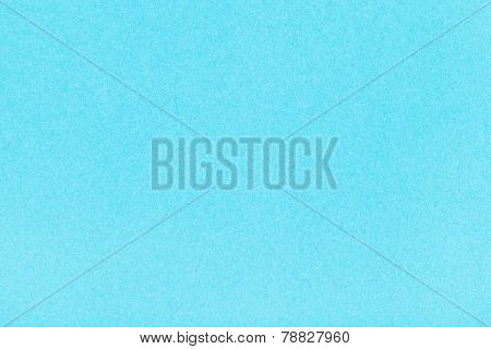 Background From Light Blue Color Velvet Paper