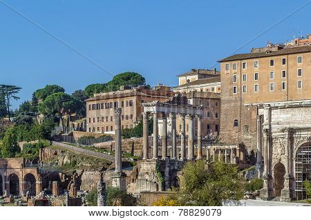 Temple Of Saturn, Rome