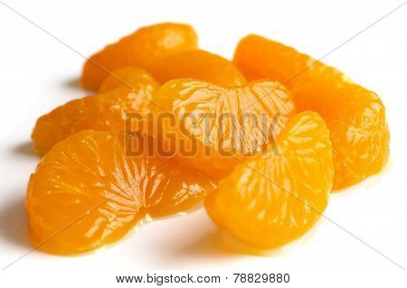 Group of mandarin segments