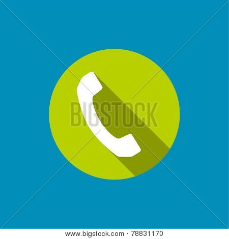 Abstract background with handset