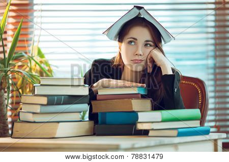 Girl Among Books