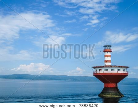 Haut-Fond Prince Lighthouse, Quebec, Canada