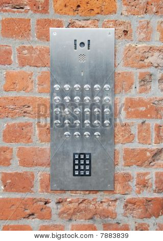 Intercom Doorbell And Access Code