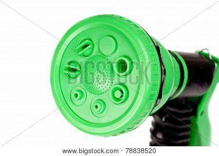 Garden Watering Gun  Isolated On White Background