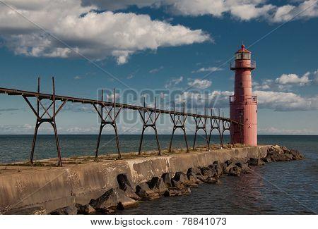 Antigo Harbor Light