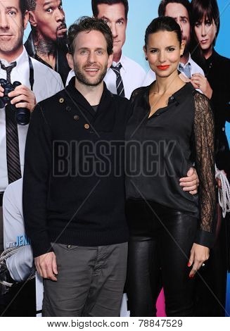 LOS ANGELES - NOV 20:  Glenn Howerton & Jill Latiano arrives to the
