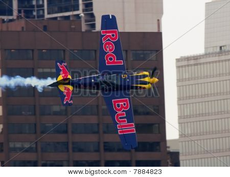 Red Bull Airplane
