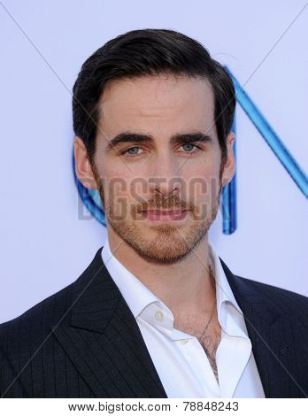 LOS ANGELES - SEP 21:  Colin O'Donoghue arrives to the
