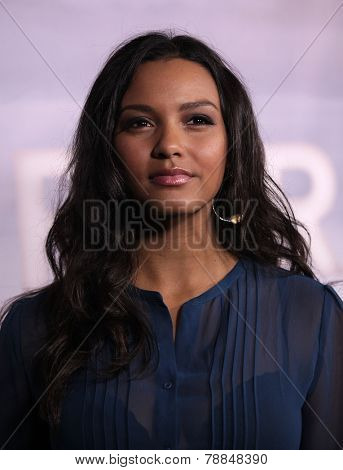 LOS ANGELES - NOV 22:  JESSICA LUCAS arrives to the