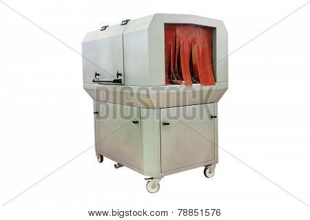 image  of an industrial dishwasher