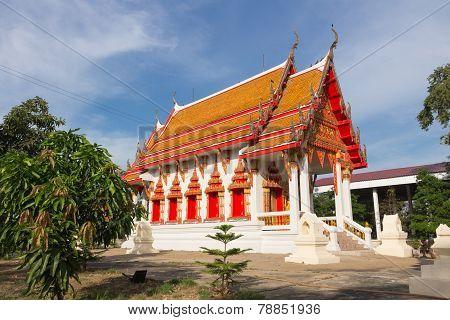 Temple at Wat Ban Ma